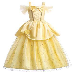 ROBE Robe de princesse La Belle et La Bête sans  manche