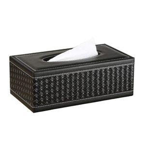 Depory Bo/îte pour mouchoirs Bo/îte /à mouchoirs Mouchoir Distributeur Ch/êne Casquette 23x13x10cm
