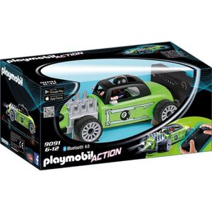 UNIVERS MINIATURE PLAYMOBIL 9091 - Action - Voiture de Course Radioc