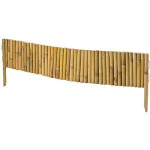 CLÔTURE - GRILLAGE Bordure bambou rouleaux avec maintien facilité …