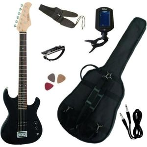 pack guitare electrique 3 4 pas cher achat vente. Black Bedroom Furniture Sets. Home Design Ideas