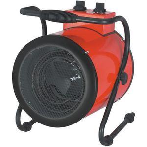 RADIATEUR D'APPOINT Chauffage soufflant 3000W mobile canon chaleur IP4