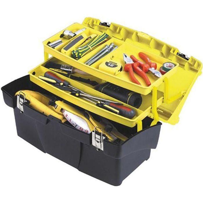 STANLEY Boîte à outils vide Jumbo 48cm