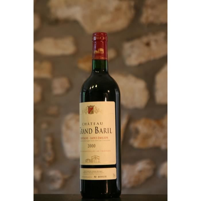 Vin rouge, Château Grand Baril 2000 Rouge