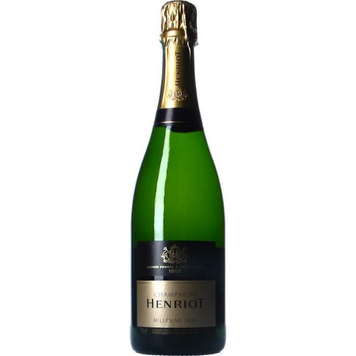 Champagne et Méthode Traditionnelle - Champagne Henriot Brut Millésimé Blanc