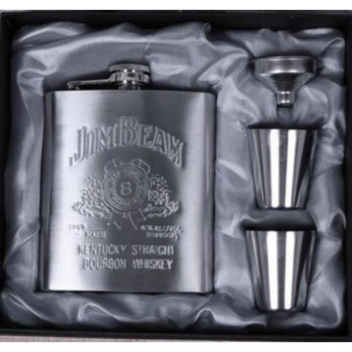 Coffret Cadeau Flasque Jim Beam