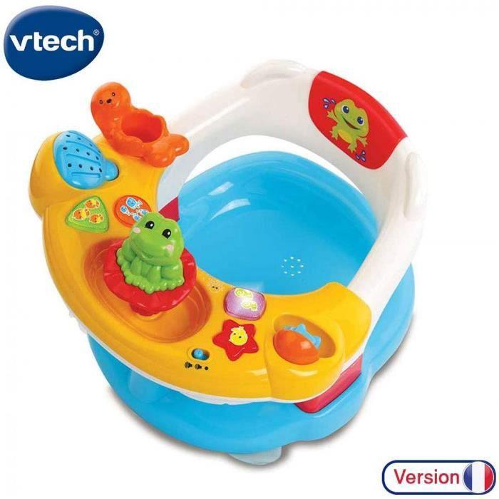 Vtech- Super Siege 2 En 1 Baby Premier Age, Jouet De Bain, 80-515405, Multicolore - Version Fr