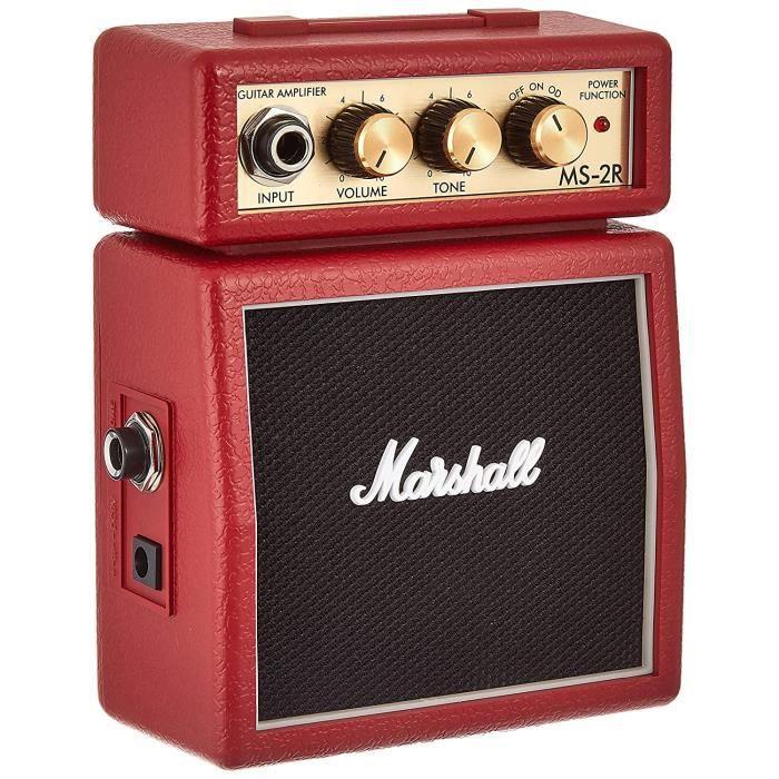 Eléments séparés Marshall Amp MS2 Mini Amp: Red 59025