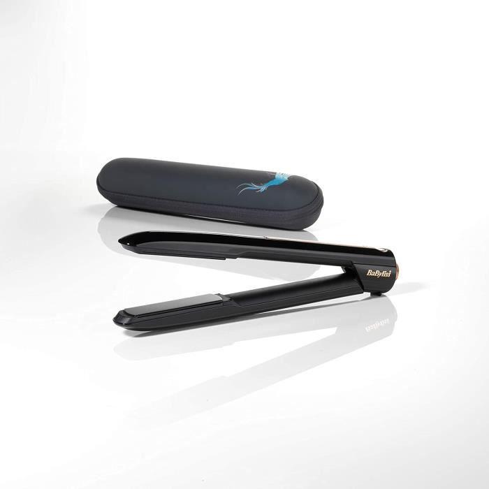 9000 - Lisseur sans fil - Haute performance avec plaques céramique et batterie lithium-ion