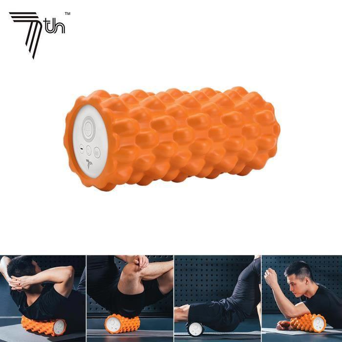 7ème colonne de yoga électrique rouleau de massage musculaire de massage 3D - 4 vitesses - 4 modes de massage - 2100-4000r - min