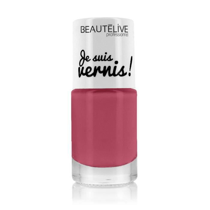 Beautélive Vernis à ongles 7 - Rose Vintage , 10ml