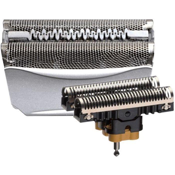 Braun Series 5 Pièce De Rechange Pour Rasoir Électrique Argentée, Compatible avec les rasoirs Series 5, 51S