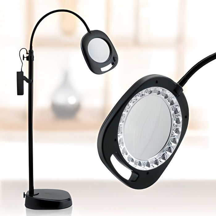 Lampe loupe à led Daylight EN1091 black
