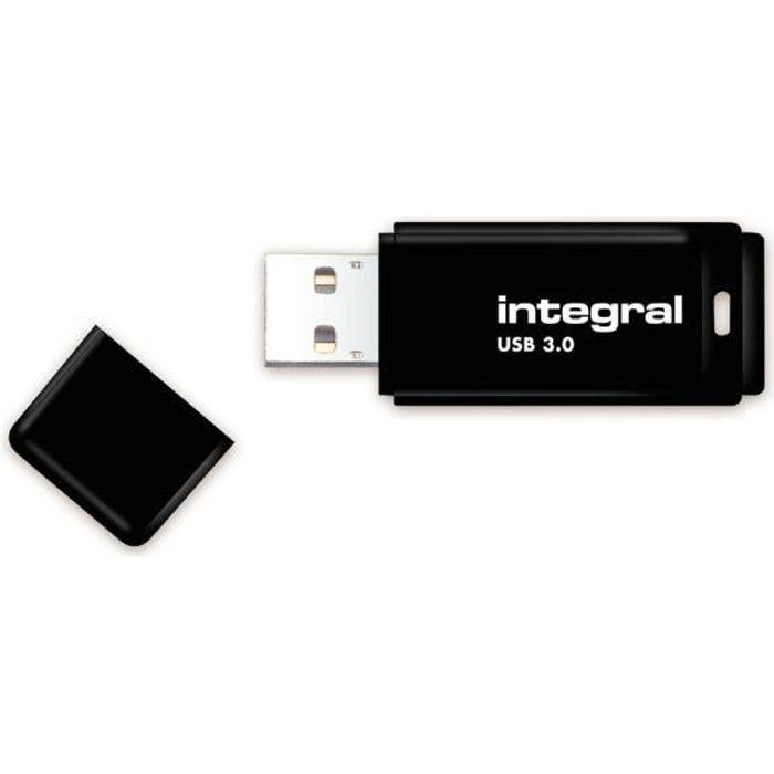 Integral Clé Usb 64 Go Usb 3.0 Noir