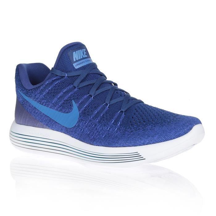 NIKE Chaussures de running LUNAREPIC FLYKNIT - Homme - Bleu