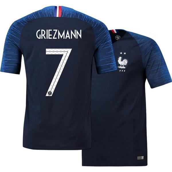 Maillot foot France GRIEZMANN 2 étoiles
