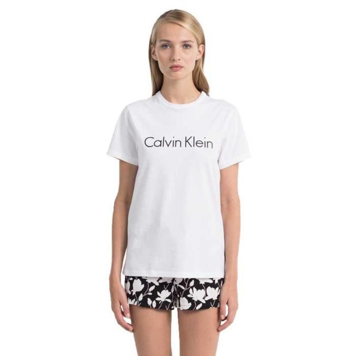 Vêtements femme Pyjamas Calvin Klein S-s Crew Neck