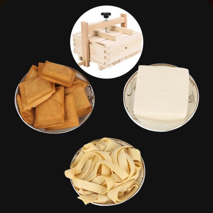 Practical Wooden Tofu Mould Kitchen Homemade Soy Curd Making Tools   MOULE A GATEAU - MOULE DE PATISSERIE