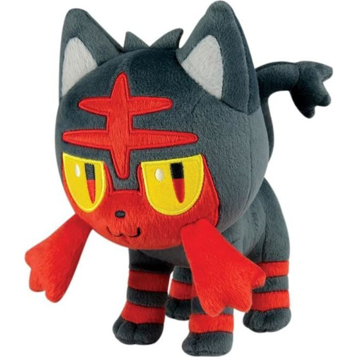 POKEMON Peluche Flamiaou