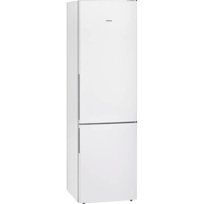 siemens - réfrigérateur combiné 60cm 337l a+++ brassé blanc - kg39eawca