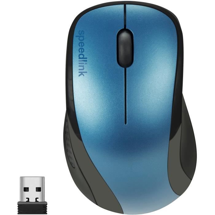 Speedlink-Be ar-630011 3 touches souris de Kappa sans fil bleu