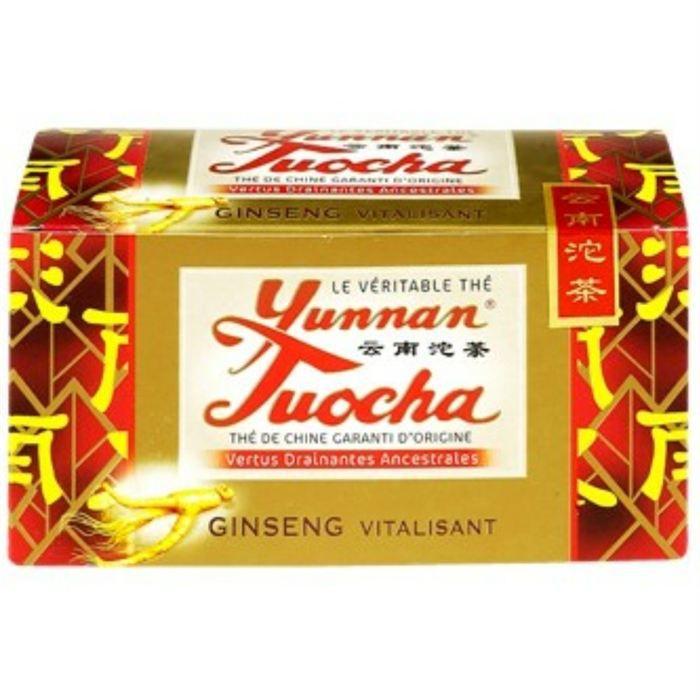Yunnan Tuocha thé au ginseng 40g