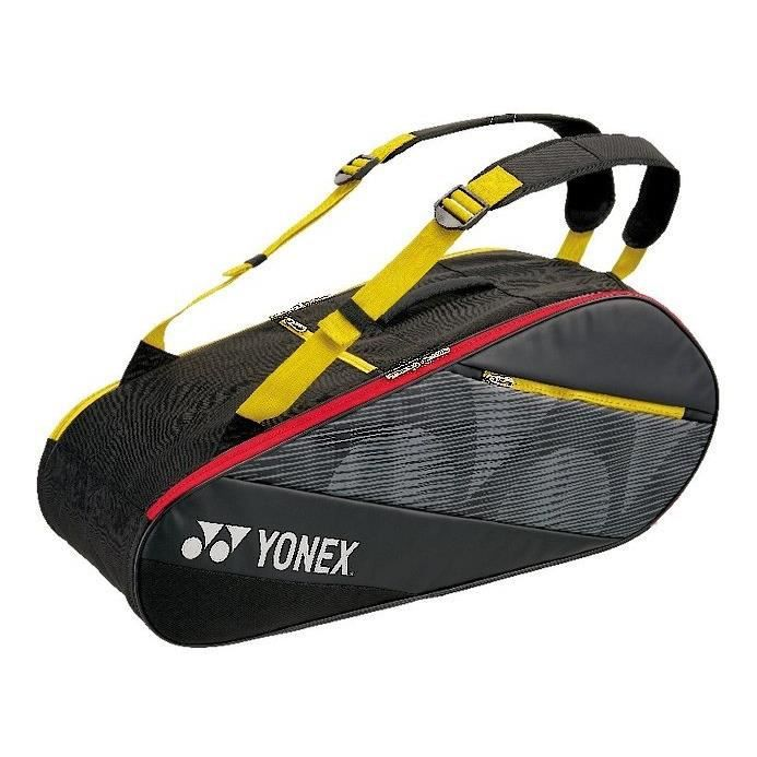 Yonex Sac de badminton actif noir/jaune