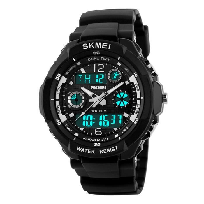 casual digital montre homme sport quartz relogio masculino smartphonespaschers. Black Bedroom Furniture Sets. Home Design Ideas
