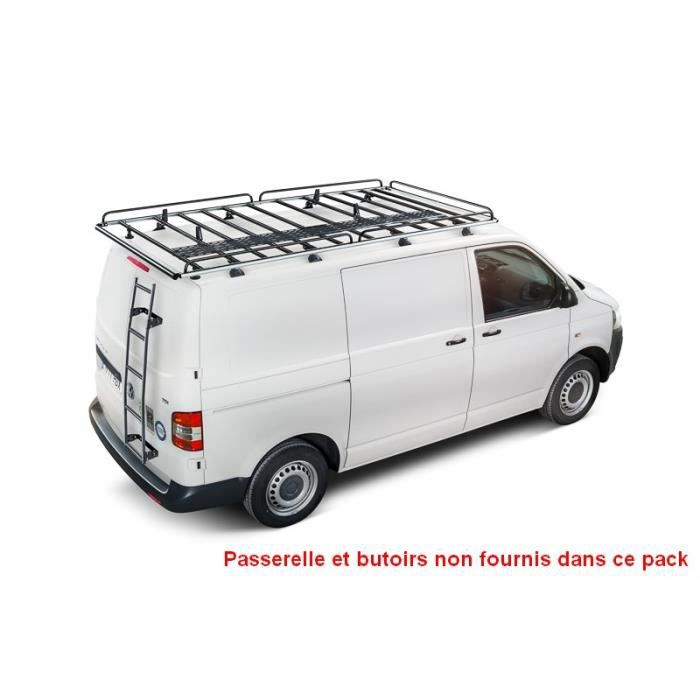 pack galerie rouleau echelle renault trafic ii l1 h1 achat vente galerie galerie rouleau. Black Bedroom Furniture Sets. Home Design Ideas