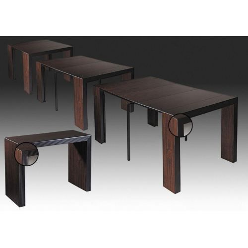Best Table Console Extensible Wengé Gallery - Joshkrajcik.us ...