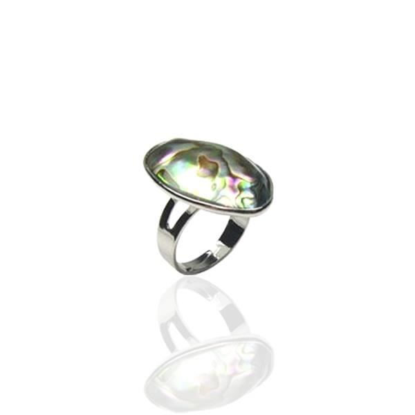 Bague Abalone ajustable F