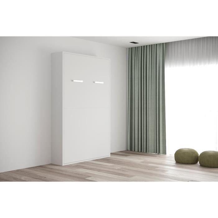 LIT ESCAMOTABLE FAST -Armoire lit escamotable verticale 2 places-1