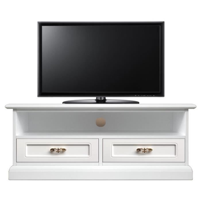 meuble tv barre de son 2 tiroirs achat vente meuble tv meuble tv barre de son cdiscount. Black Bedroom Furniture Sets. Home Design Ideas