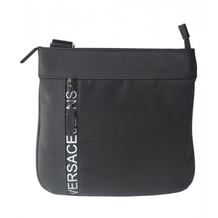 SACOCHE Pochette bandoulière Versace Jeans E1YSBB32-noir 2
