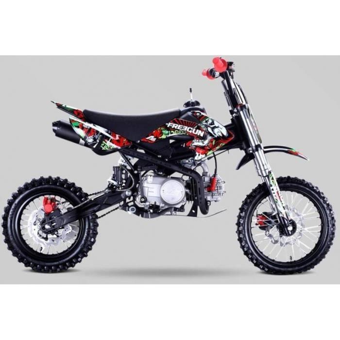 Kit plastique Type CRF50 Dirt Bike Noir