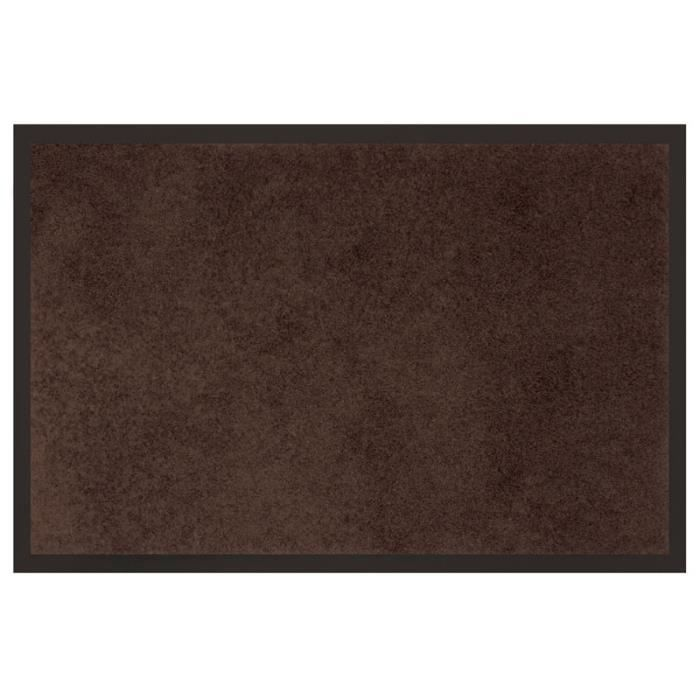 tapis d 39 entr e 60x80 dust choco achat vente paillasson cdiscount. Black Bedroom Furniture Sets. Home Design Ideas