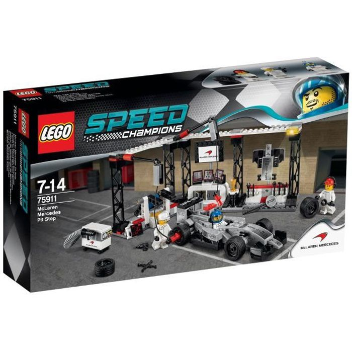 lego speed champions 75911 stand mclaren mercedes achat vente assemblage construction. Black Bedroom Furniture Sets. Home Design Ideas