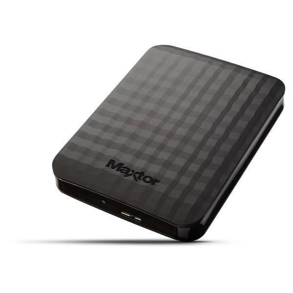 """DISQUE DUR EXTERNE Disque dur Maxtor 2.5"""" 1To Externe USB 3.0 Noir +"""