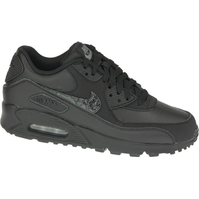 info for 35183 2294b Nike Air Max 90 Ltr Gs Femme baskets 724821,001  u0026quot Noir u0026quot   ...