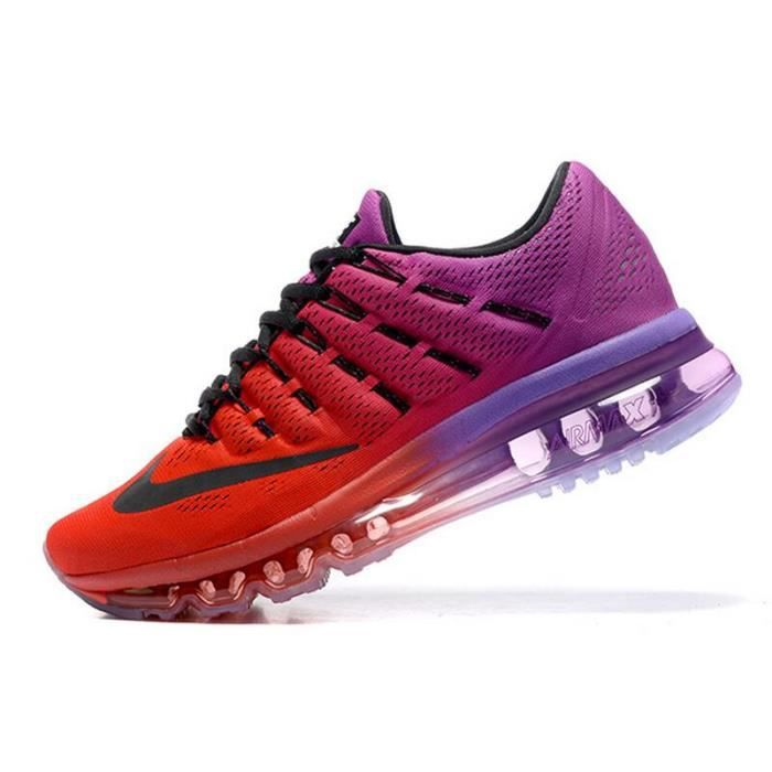Air Max 2016 Femme Rouge