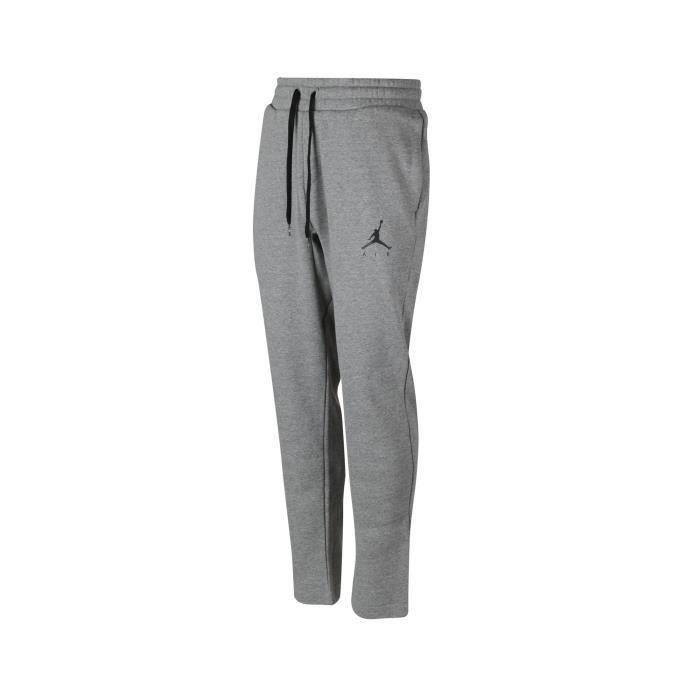 Pantalon Nike Jordan Jumpman Fleece Gris Prix Pas Cher Cdiscount