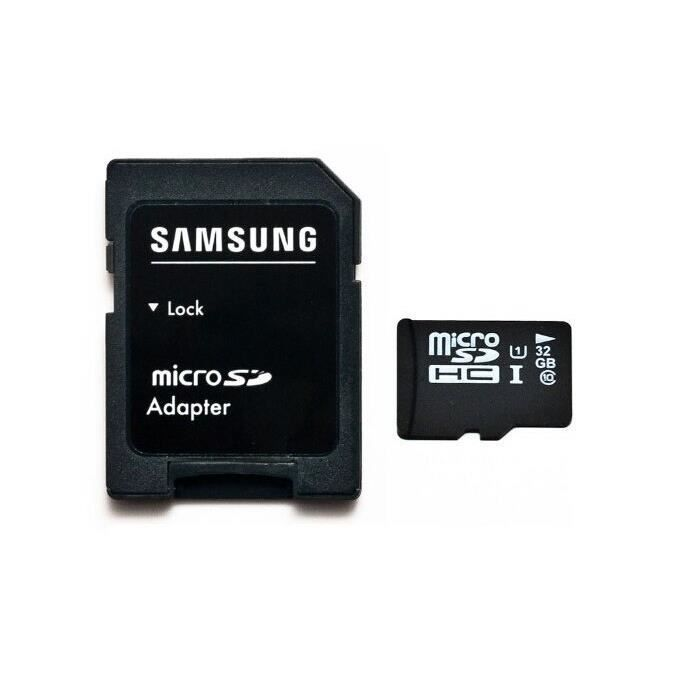 32 go micro sd classe 10 par samsung semiconductor achat vente carte m moire cdiscount. Black Bedroom Furniture Sets. Home Design Ideas