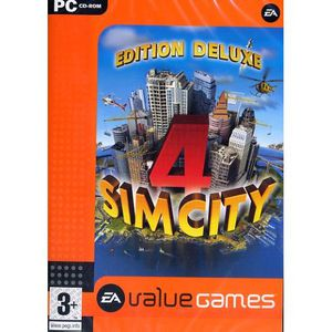 JEU PC SIM CITY 4 DELUXE VALUE GAMES / JEU PC DVD-ROM