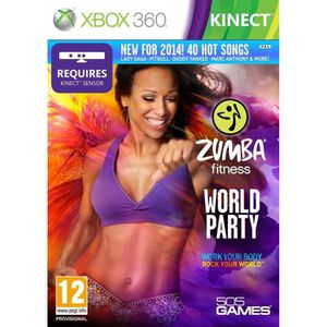 JEUX XBOX 360 Zumba Fitness Join the party xbox 360