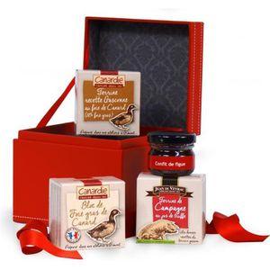COFFRET CADEAU ÉPICERIE CANARDIE Coffret La Surprise, contient 4 produits