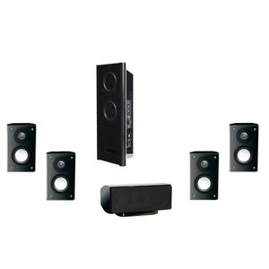 ADVANCE ACOUSTIC EZY-500 Pack Enceintes 5.1 noir