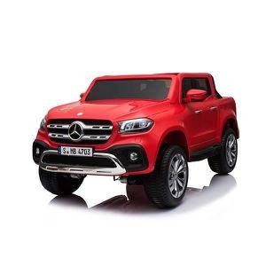 VOITURE ELECTRIQUE ENFANT ATAA CARS - Mercedes Pickup Deux places - (Rouge)