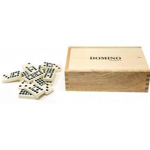DOMINOS Double compétition 9 Dominos en coffret bois 3E1E5