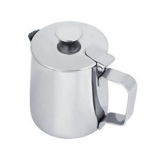 CAFETIÈRE Tasse à café en acier inoxydable avec pichet à lai