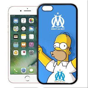 coque iphone 8 homer simpsons om marseille
